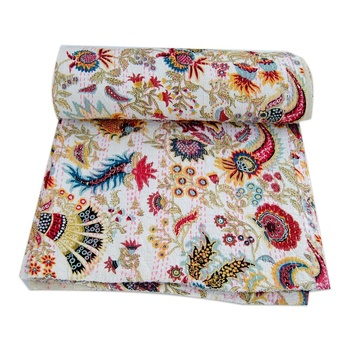 Summer quilt printed home decor bedspread Wholesale