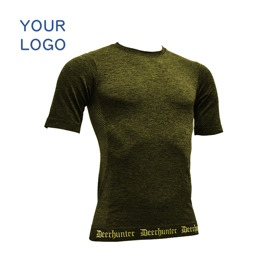 Custom sports wear men Merino Wool anti bacteria short sleeve t shirt