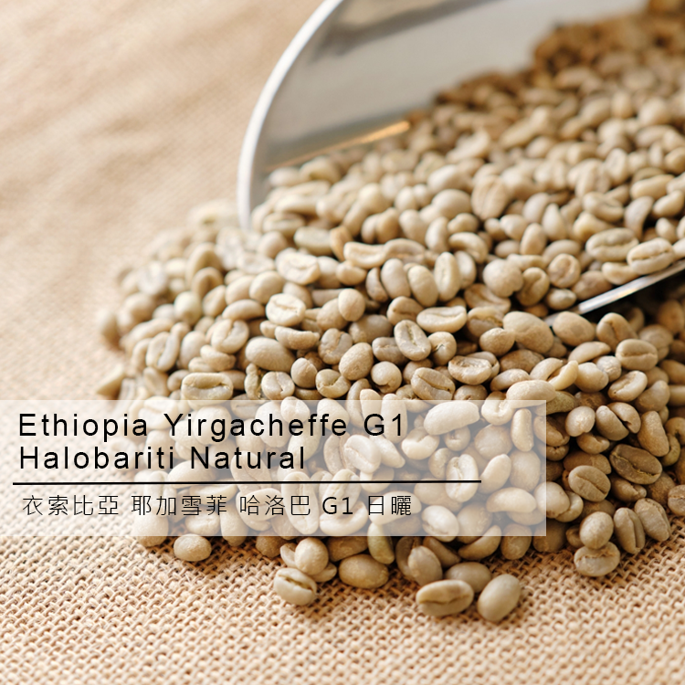 Ethiopia Yirgacheffe G1 Halobariti Natural Arabica Green Coffee