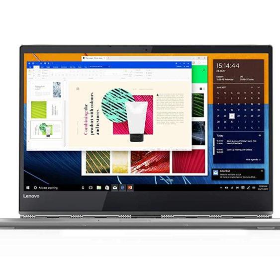 BRAND NEW Lenovos YOGA 920 2-in-1 Laptop - Intel Core i7-8550U, 13.9-Inch UHD Touch, 512GB SSD, 8GB,Win10