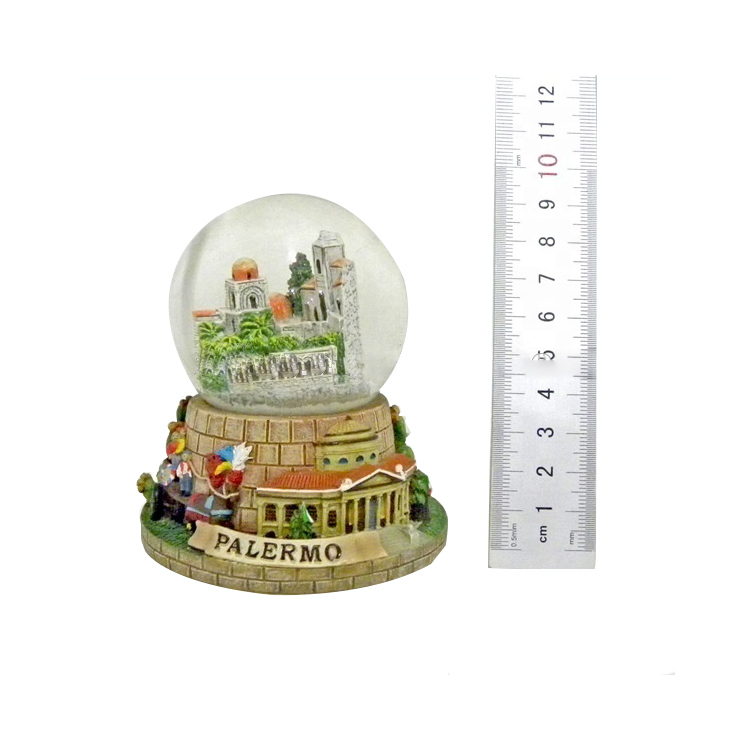 Wholesale customize europe style italy city souvenirs snow balls