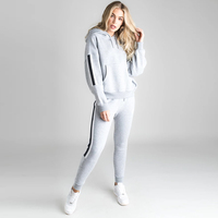 Women Tracksuit Sets Pullover Female Track Suit Tops Females Ankle-Length Pants Womens Casual Sweatshirt