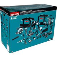 New-Makita LXT1500-230 18V LXT Li-Ion Cordless 15-Pc. Combo
