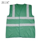 ZUJA Factory Custom Hi Vis Green Reflectors Safety Vest