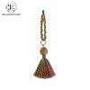Customized new products Colorful tassel for Garment and handbag