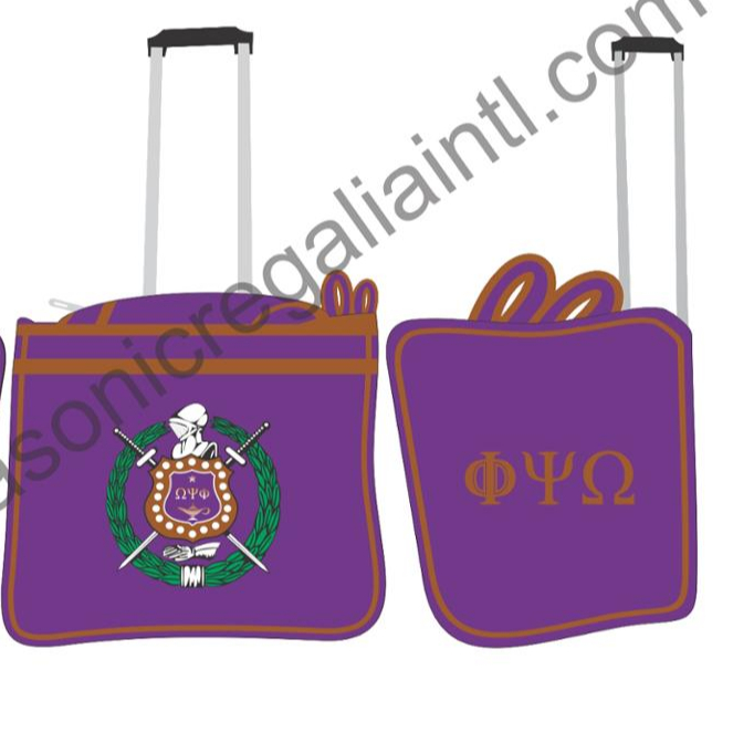 Omega Psi Phi Trolley Tasche | Trolley Tasche