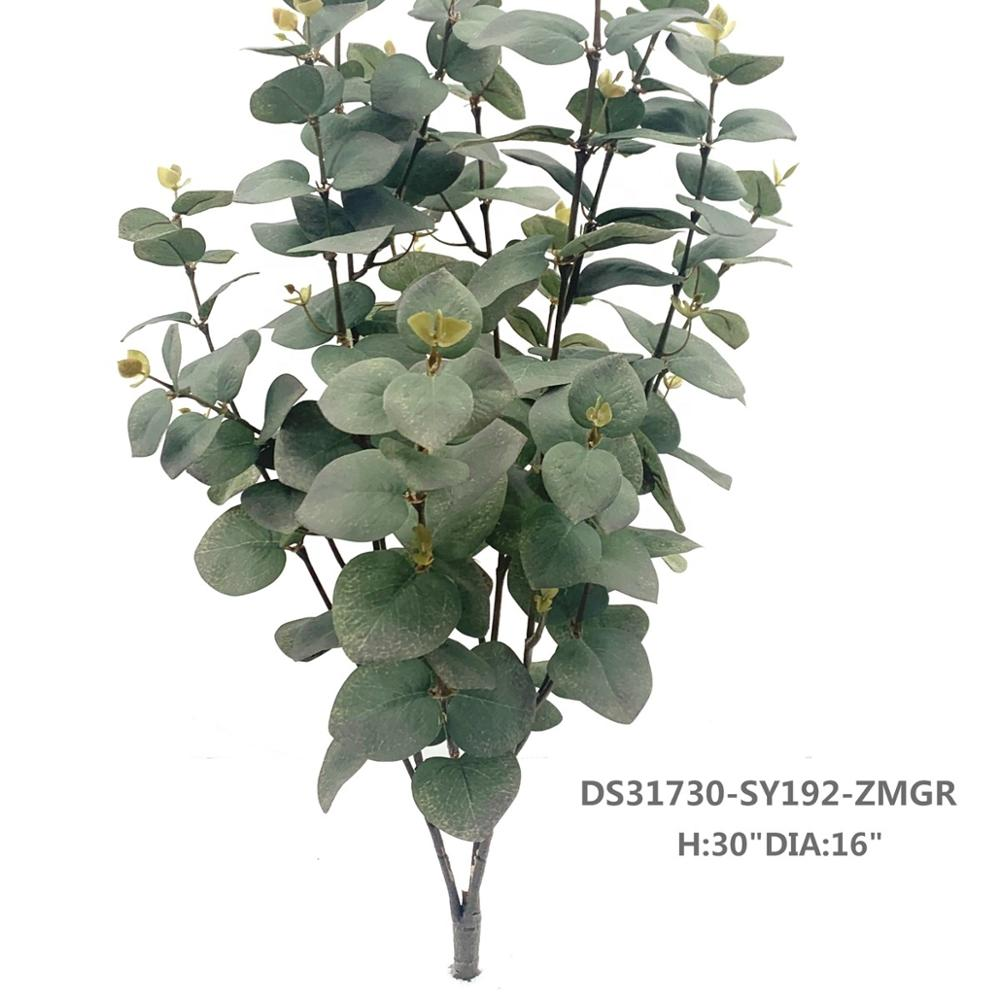 High Quality factory direct sales Factory Price plastic green artificial tree for wedding decoration interior home decorations