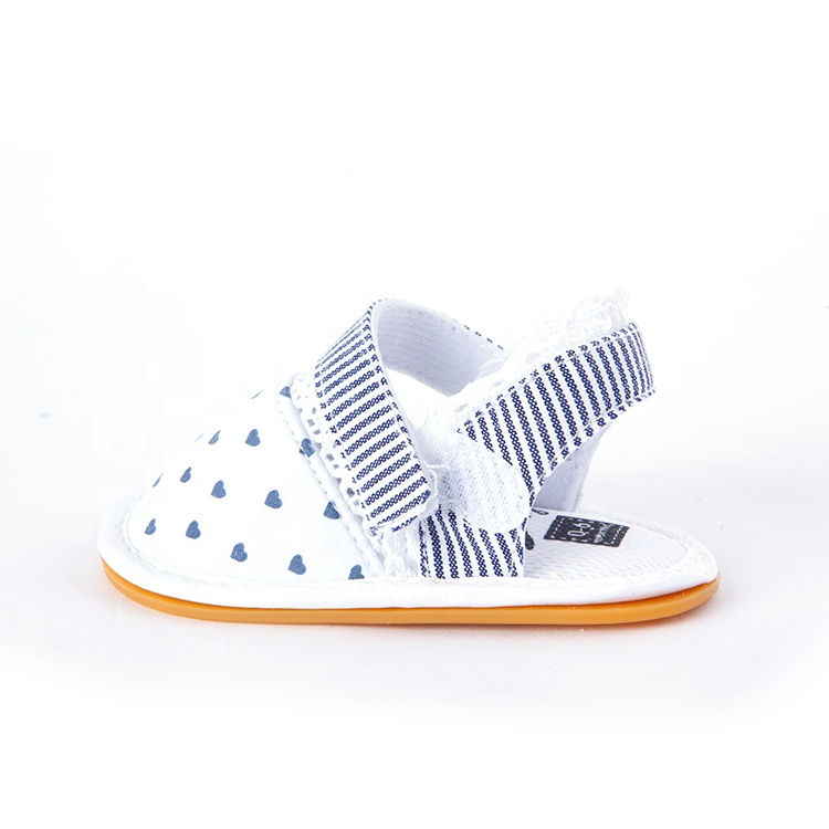 Infant Soft Rubber Sole Baby Girl Sandals Bebe Casual Shoes