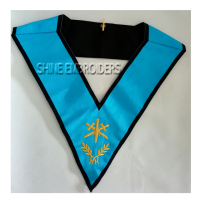 Masonic Regalia 4 degree French rite collar - masonic regalia