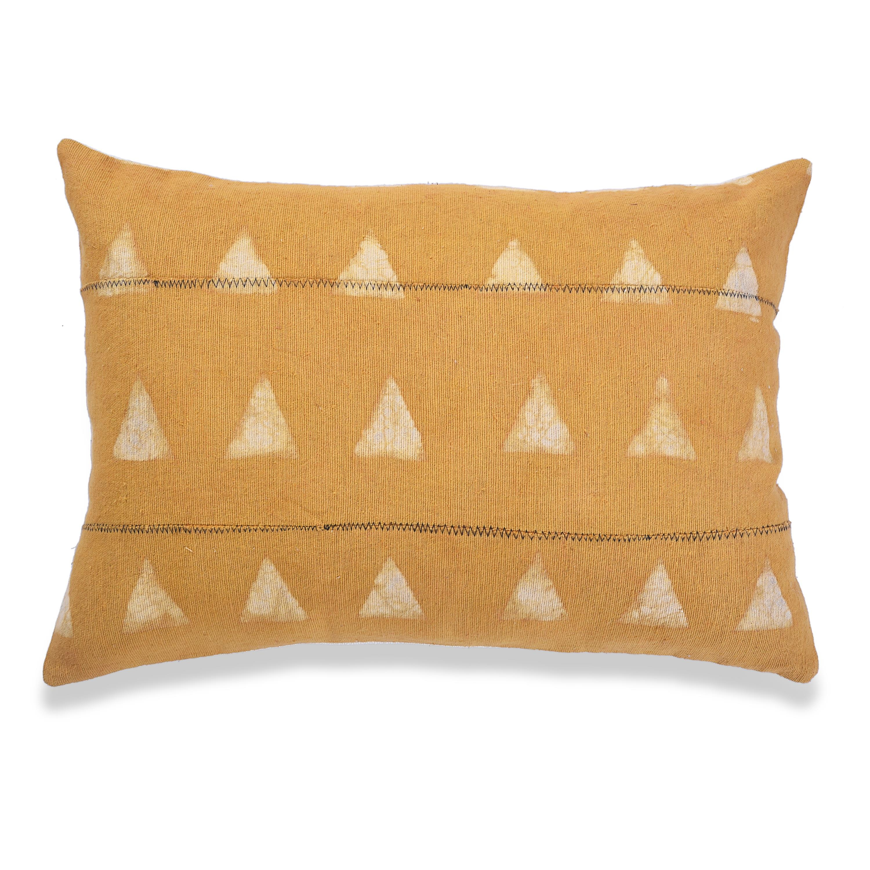 Printed Mudcloth Throw Pillow Covers