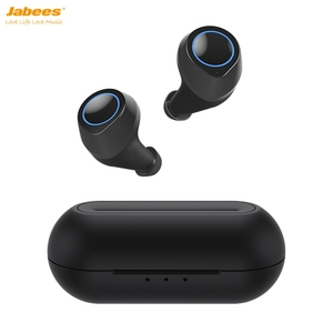 True Wireless Earbuds Bluetooth 5.0 with Built-in Mic for Calls and Music Earphone & Headphone IPX5 with Charging Case IND