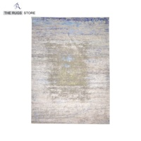 Area Rugs For Living Room Carpets Rugs Modern Blue And Grey Color Rugs Wool