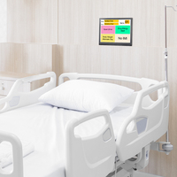 Patient Information Display Monitor Shows Bed No., Doctor Info., Medical Info. & Care Notice In Digital Format For Easy Reading