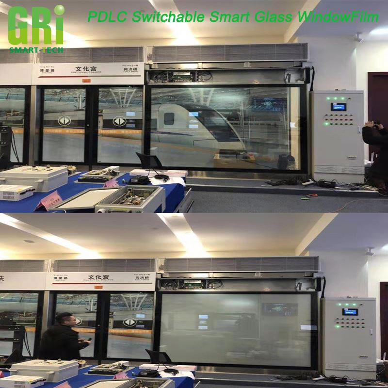 High clear PDLC Switchable smart films