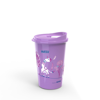 Travel plastic cup for cold and hot water made in Vietnam 750ml 500ml