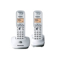 KX-TG3552BXB Panasonic Cordless Landline Phone 2.4 Ghz, Twin set, Conference call, Caller ID, wireless telephone