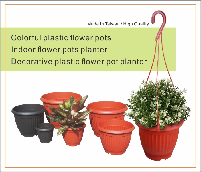 18 inch classic outdoor round flower pots