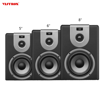 "5""/6.5""/8"" Woofer Professional Active Studio Monitor Speaker For Home"