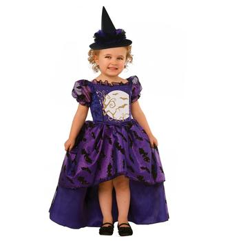 Purple Halloween Wicked Witch Dance Costumes Kids Fancy Party Dress For Baby Girls Halloween Costume Buy Kids Party Wear Dresses For Girls Witch Costume Halloween Fancy Party Dress Product On Alibaba Com