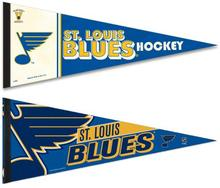 NHL ST Louis Blues 2 Premium Pennants 12x30 inches Flag