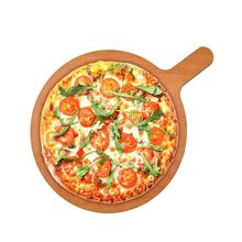 Runde <span class=keywords><strong>Pizza</strong></span> Schneiden Bord 18 zoll <span class=keywords><strong>Holz</strong></span> Faser <span class=keywords><strong>Pizza</strong></span> Peel Paddle Portion Boards