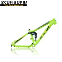 DaBomb MTB Alloy Suspension Dirt Jump DJ Bike Frame