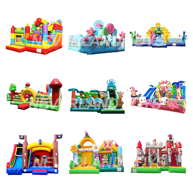 Inflatable Bouncer Inflatable Castle Slider , Inflatable Bouncy Castle For Sale