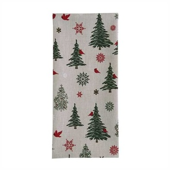 Christmas Tree Printed kitchen towels