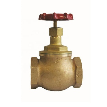 COVNA Straight Run Class 300 NPT Female i inch 1/2 Inch Water Bronze Brass Globe Valve