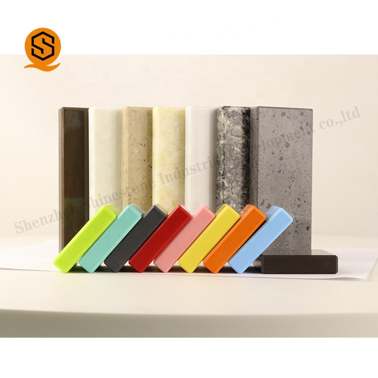 Superseptember Duponts Corians 12mm pure acrylic solid surface/modified acrylic sheet for shower walls
