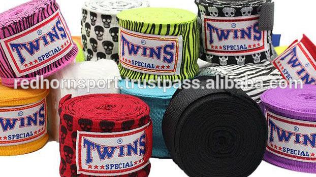 High quality Custom Boxing Hand wraps, Boxing wrist protection , Boxing Bandage 180 inch mma boxbandagen 120 inch Hand Wraps