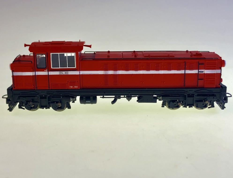 ANE модель DL-40 тайвань алшань лесная железная дорога дизельный локомотив модель поезд