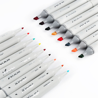 168 Colors Alcohol Based Markers Permanent Art Marker Pen Set 80 Color With Double-Headed For Painting