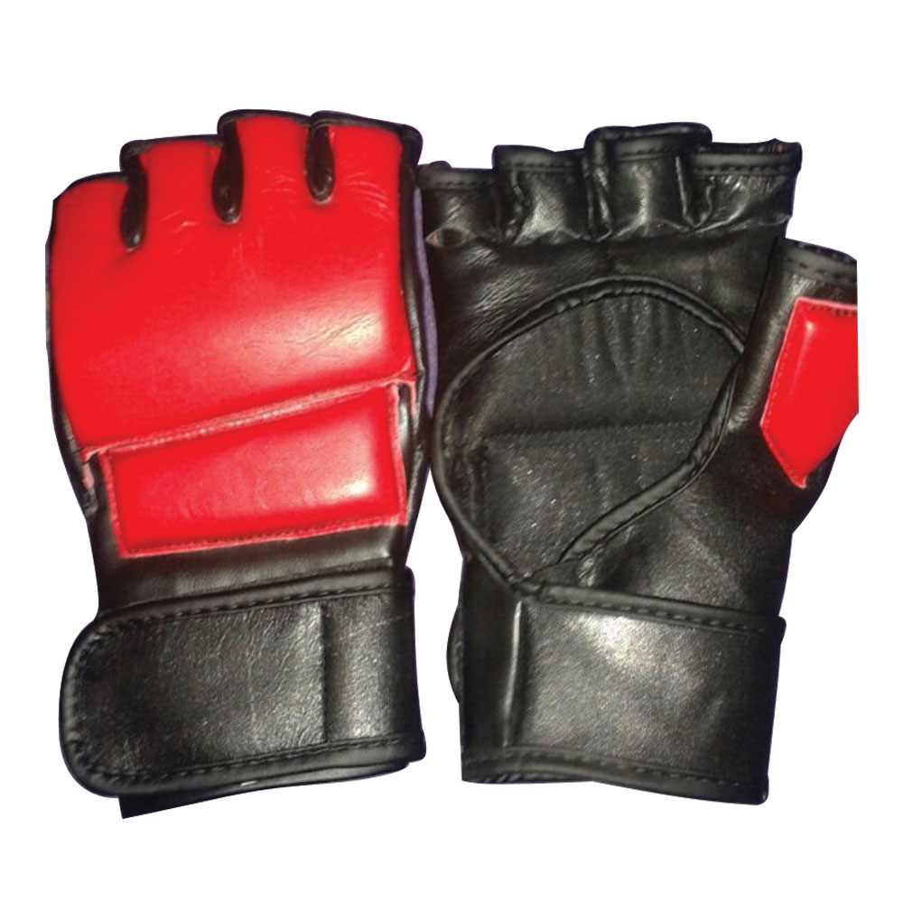 Cool MMA Muay Training Punching Bag Half Mitts Sparring Boxing Gloves Gym