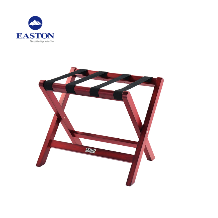 Easton produced strong metal luggage rack hotel luggage stand folding luggage rack