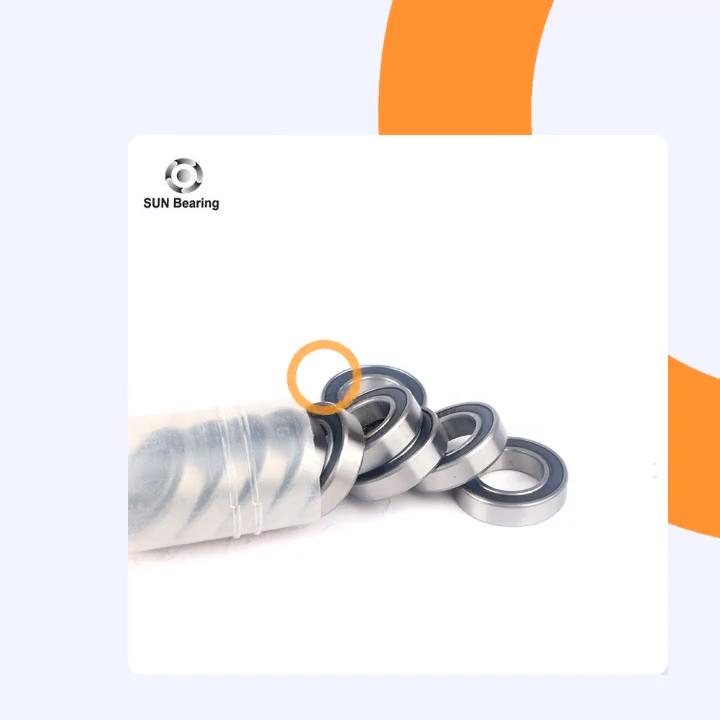 Buon prezzo cuscinetti a sfere profondo della scanalatura cuscinetti a sfere 6001-2RS C3 per motore utensili elettrici