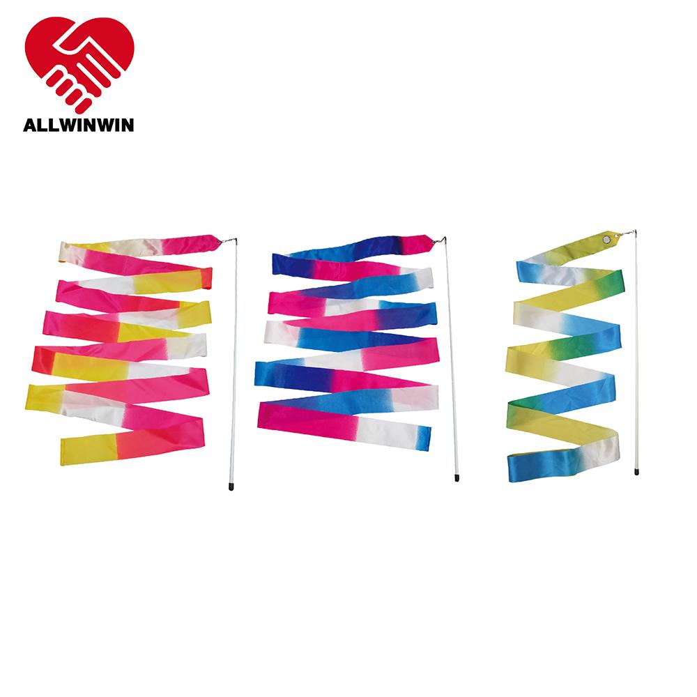 Rhythmic Gymnastics Ribbon - Bicolor 4/5/6m Olympics Spec