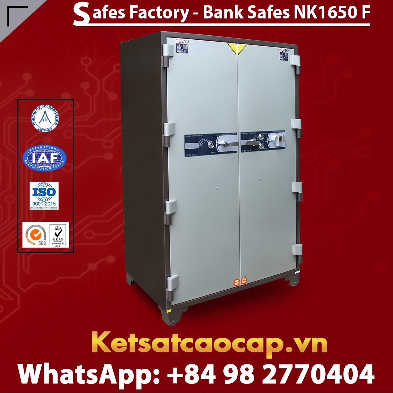 Bank Safe NK 1650 F Hot Sale Design - Modern Mechanical Locking System