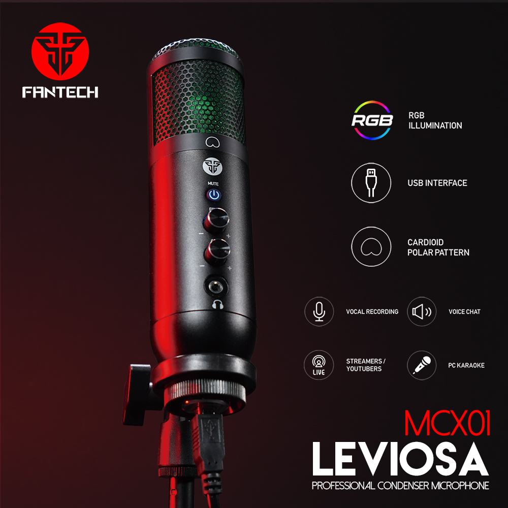 Fantech MCX01 Leviosa Condenser Microphone 5