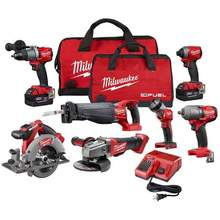 <span class=keywords><strong>POWER</strong></span> <span class=keywords><strong>TOOLS</strong></span> MilwaukeeS_2695-15 M18 18V Cordless Lithium-Ionen Combo Werkzeuge