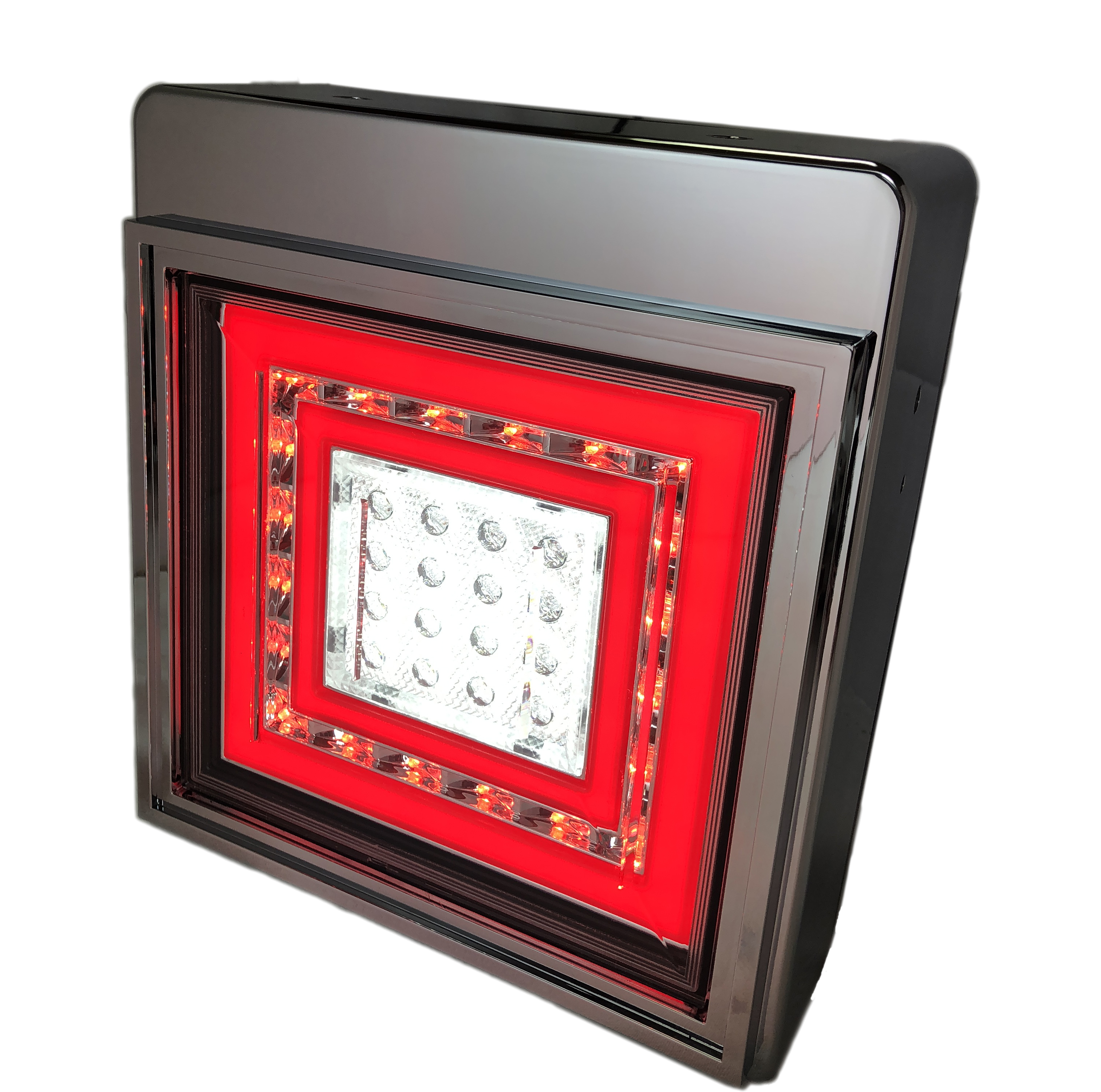 Commercial red high quality truck led tail light 24v for Auto Lighting Systems