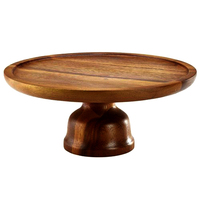 Round Wooden Fruit Tray
