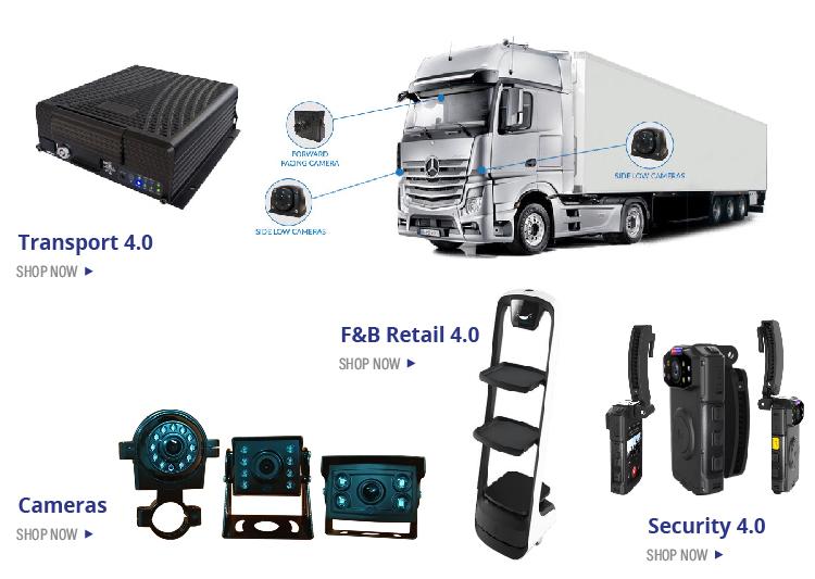 Intelligente Sistema di Monitoraggio Del Veicolo (IVMS) sistema di tracciamento dispositivo da di Singapore