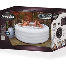 Best'way 54148lay z_spa <span class=keywords><strong>Las</strong></span>_<span class=keywords><strong>Vegas</strong></span>_Inflatable airjet_adult spa jakuzisi 4-6 kişi-spa_LED