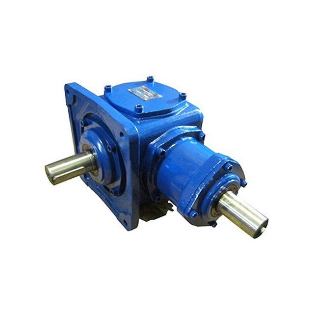 T Series 90 Degree Sprial Bevel gear reducer gearbox helical bevel speed gearbox reduction gear motor harmonic gear