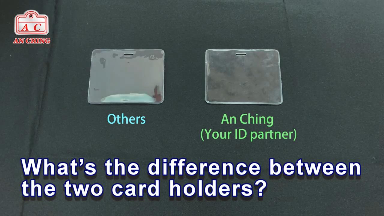 근접 PVC 플라스틱 ID 카드 배지 홀더
