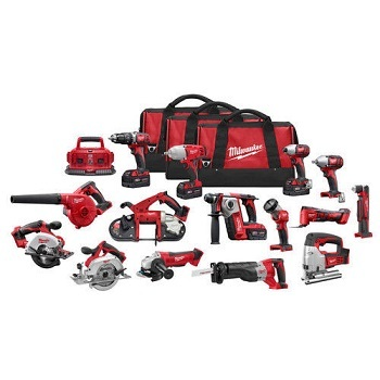 Milwaukee 2691-22 M18 Cordless 15-tool Combo Kit/Power Tool Milwaukee M18 15-tool Combo Kit