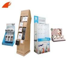 Kustom Pop Up Counter <span class=keywords><strong>Produk</strong></span> Menampilkan/Lantai Stand Cardboard Display dengan Hook