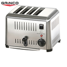 Commercial OEM logo stainless steel 4 pcs table top electric sandwich toaster machine