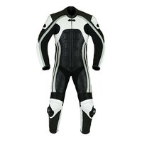 Men Motorbike Suit Made of Genuine Leather In Bulk Custom OEM/ODM